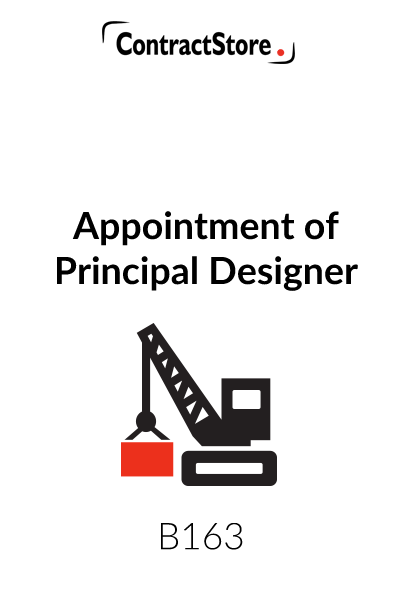 Appointment of Principal Designer
