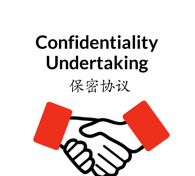 Chinese Confidentiality Undertaking