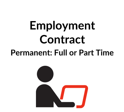 Permanent Employment Contract – Full or Part time Employee