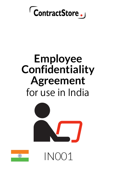 Employee Confidentiality Agreement (INDIA)