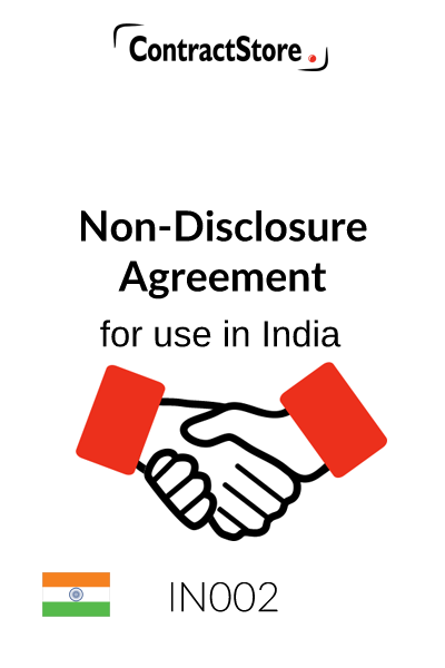 Non-Disclosure Agreement (India)