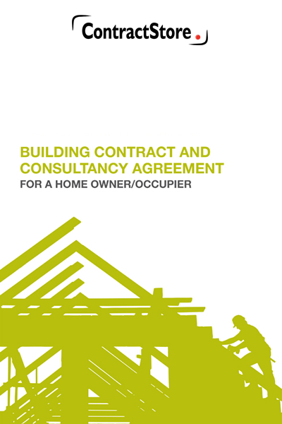 JCT Building contract for a home owner/occupier who has a consultant to oversee the work