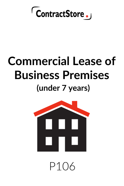 Commercial Lease Agreement Template UK (Under 7 Years)