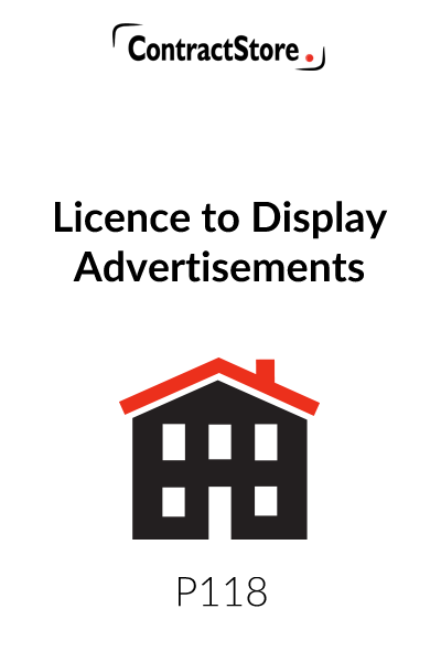 Licence to Display Advertisements