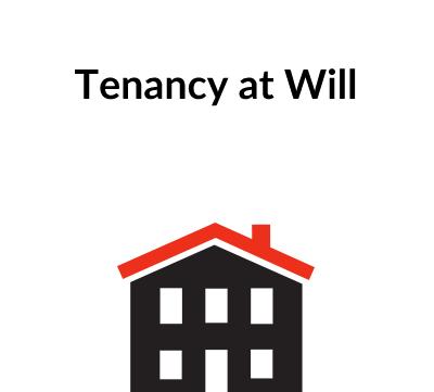 Tenancy at Will