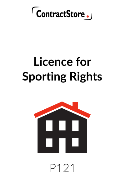 Licence for Sporting Rights