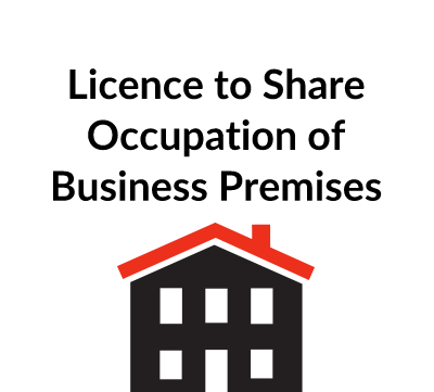 Licence to Share Occupation of Business Premises