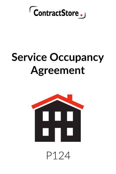 Service Occupancy Agreement