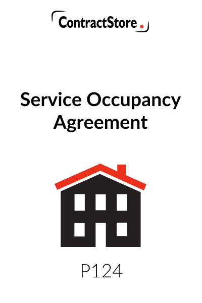 Service Occupancy Agreement