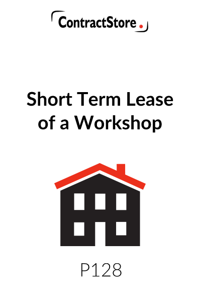 Short Term Lease of a Workshop