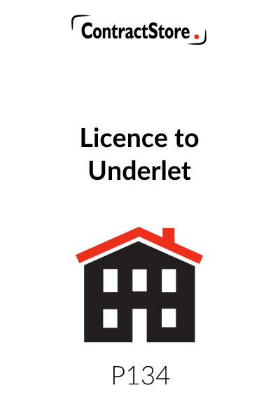Licence to Underlet