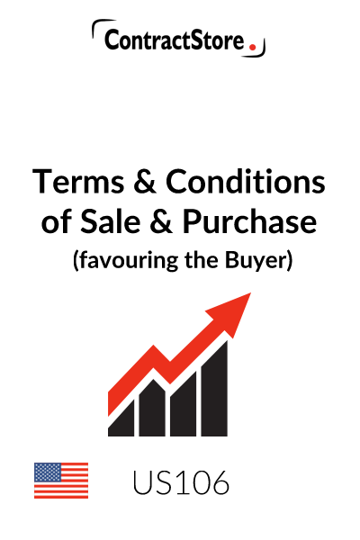 Standard Terms and Conditions of Sale & Purchase – for Purchase Order (favouring the Buyer)
