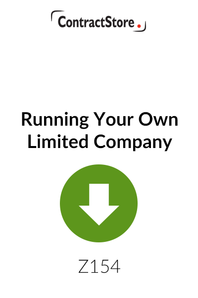 Running Your Own Limited Company – Free Document