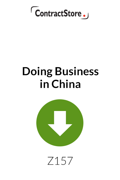 Doing Business in China – A few tips for the first timer