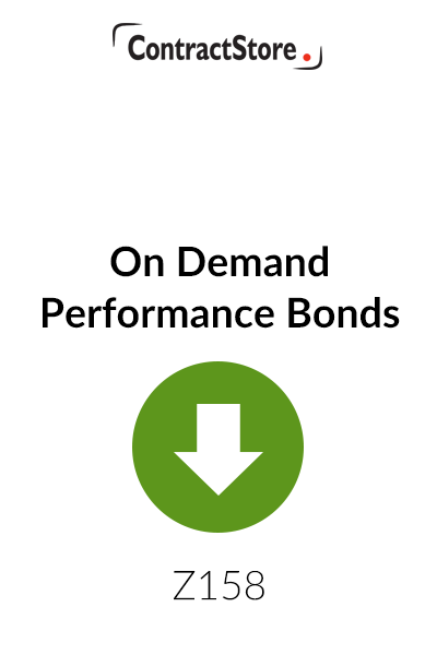 On Demand Performance Bonds & Adjudication as a Means of Reducing the Risks – Free Document
