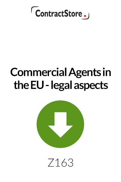 Commercial Agents in the EU – legal aspects