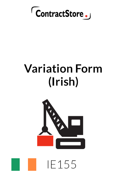 Variation Form (Irish)