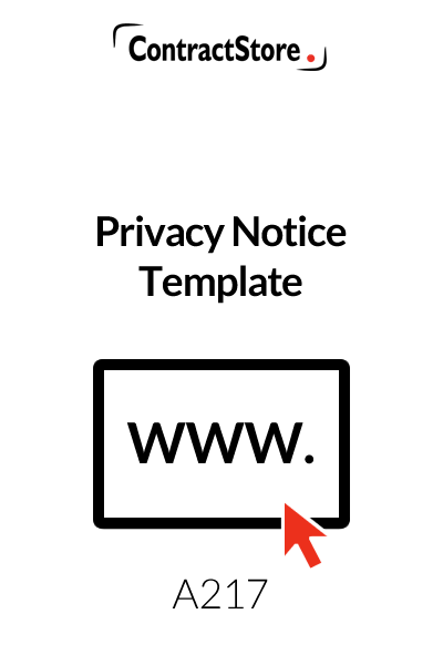 Privacy Notice Template