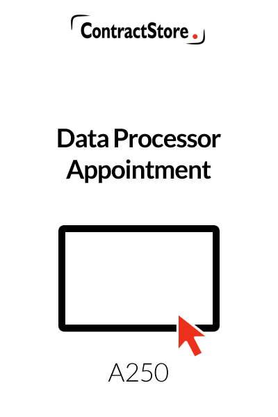 Data Processor Appointment